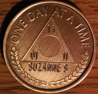 Al-Anon Medallion Engraved | Al-Anon Medallions Engraved