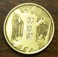 New Life Medallion Engraved